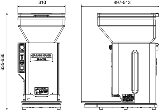 ASM 410 CE - SCHÉMA